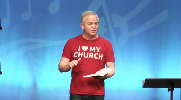 Hal Seed at I Heart My Church Weekend