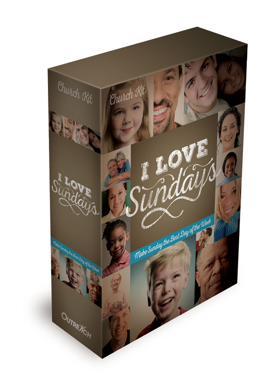 The I Love Sundays Campaign Kit will show you how.