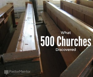 What 500 Churches Discovered