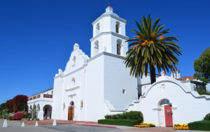 San Luis Rey Mission in Oceanside, CA
