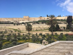 View Jerusalem from the Mount of Olives