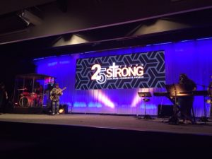 New Song Church 25th Anniversary Celebration Stage