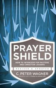 Peter Wagner Prayer Shield