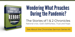 Chronicles Sermon Series Kit