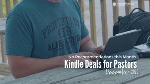 Kindle Deals for Pastors